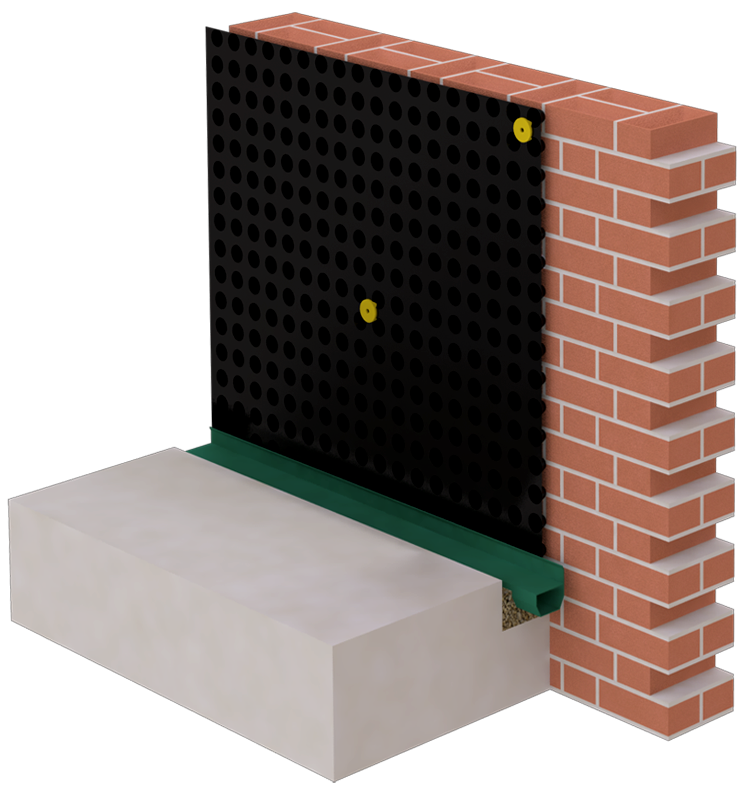Basement Waterproofing Systems - Safeguard Internal Cavity